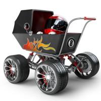 Dem Kinderwagen der Zukunft ein Stück näher