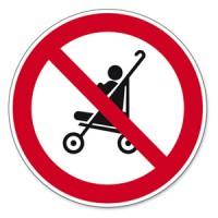 Kinderwagenverbot auf der Rolltreppe