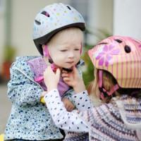 Kinderwagen und Fahrrad in Einem