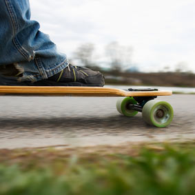 Sportlich: Der Longboard Kinderwagen