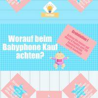 infografik wie finde ich das richtige babyphone kinderwagen postille. Black Bedroom Furniture Sets. Home Design Ideas