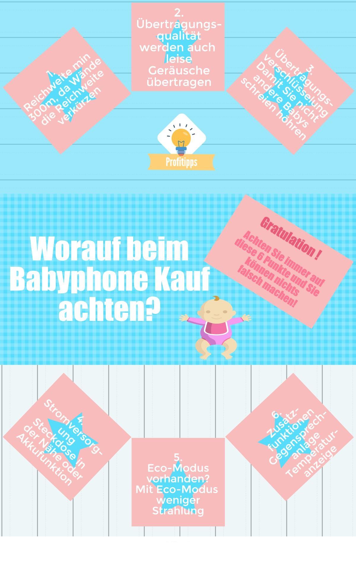 Wie finde ich das richtige Babyphone?