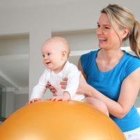 Physiotherapie bei Kleinkindern