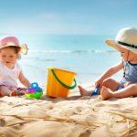 Warum der Strand für Kleinkinder kein geeigneter Ort ist