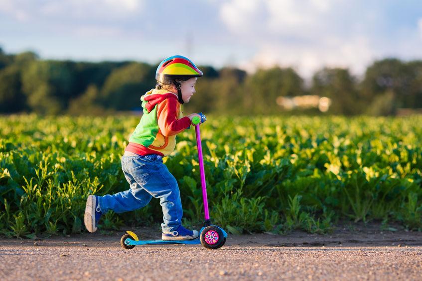 Helme für Kleinkinder: Das gilt es zu beachten